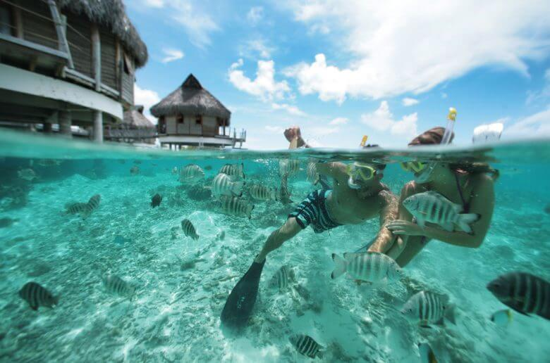tahiti sous l'eau