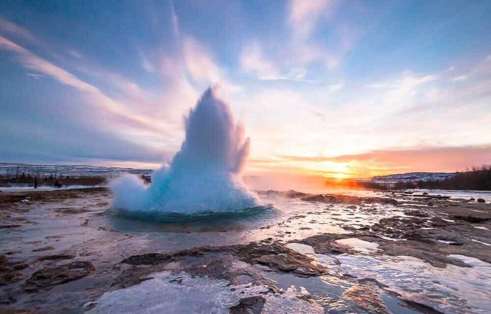 Island-Reykjavik-Geiser